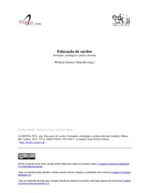 Educação de Surdos, formação, estratégias e prática docente (cap.6)