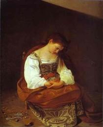 caravaggio - Penitente Madalena