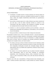 Apostila Direito Empresarial I