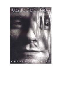 4c00bdf2f Charles R. Cross MAIS PESADO QUE O CEU BIOGRAFIA DE KURT COBAIN
