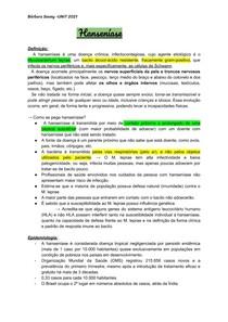 INFECO 5- Hanseníase e BCG