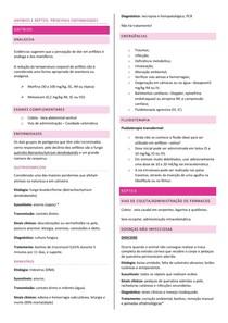 Resumo das principais enfermidades em anfíbios e repteis