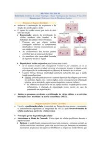 Reparo Tecidual - Patologia (Robbins & Cotran)