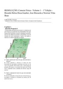 RESOLUÇÃO : Conecte Física 1 - Capitulo 1 - Questão Proposta 6