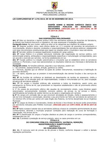 LEI-REGIME-JURÍDICO-ÚNICO-SALVATERRA PA_