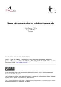 Manual Básico para atendimento ambulatorial em nutrição