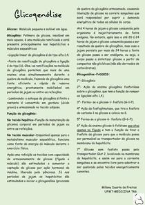 Bioquímica -glicogenólise