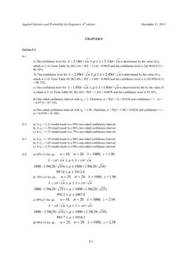 Livro  do Montgomery,  6 edição- cap8 exercícios resolvidos