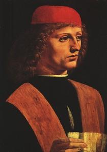 Leonardo Da Vince - Portrait of a Musician