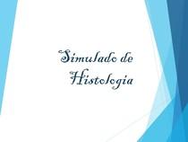 Simulado - Histologia Humana