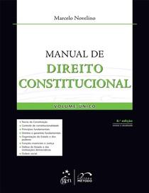 Marcelo Novelino   Manual de direito constitucional