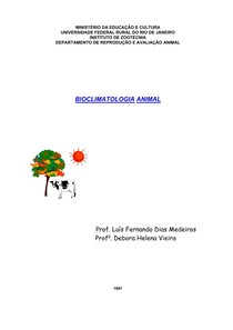 Apostila de Bioclimatologia I