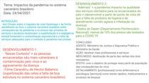 Redação - Impactos da pandemia no sistema carcerário brasileiro (ideias)