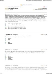 Química de Alimentos Av2..