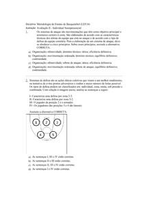 Avaliação II - online Basquetebol