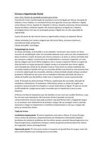 Transcrição Cirrose e Hipertensão Portal