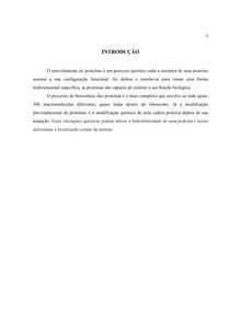 ENOVELAMENTO E PROCESSAMENTO PÓS-TRADUCIONAL DE PROTEÍNAS