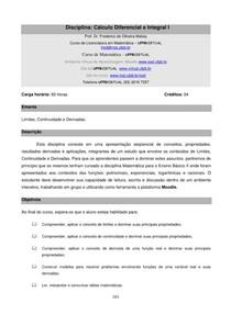 Apostila - Calculo I - Frederico