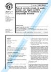 NBR 08891   1985   Tubo de Concreto Armadode Seção Circular para Esgoto Sanitário   Determinação a Resistência