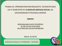 SLIDES MOVIMENTOS SOCIAIS E A IMPLANTAÇÃO DAS POLÍTICAS SOCIAIS  portfolio UNOPAR