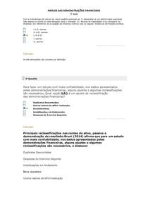 ANÁLISE DAS DEMONSTRAÇÕES FINANCEIRAS AULA 4 5