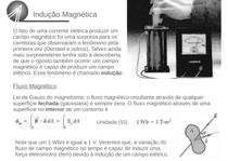 Indução magnética - Física - Resumo