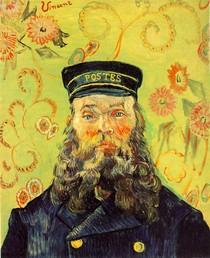Vincent Willem van Gogh-retrato-da-Postman-Joseph-Roulin