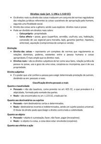 AULA - Direito Civil 4 - Direitos reais