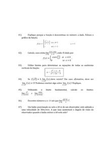 Limites - Lista resolvida - Renato da Silva Viana