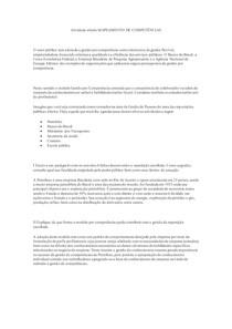 ATIVIDADE ABERTA MAPEAMENTO DE COMPETÊNCIAS