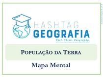MAPA MENTAL - POPULAÇÃO DA TERRA