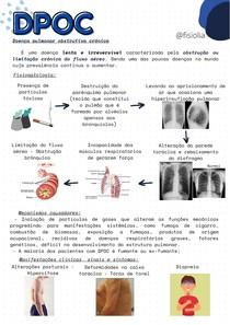 DPOC - Fisioterapia, reabilitação pulmonar e características