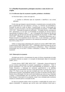 Planilha Orçamentária (Módulo 3)