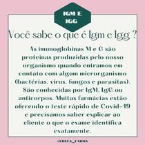 IgM e IgG