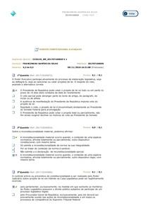 1º AVALIANDO APRENDIZADO DE DIREITO CONSTITUCIONAL AVANÇADO