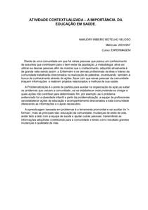 ATIVIDADE CONTEXTUALIZADA - educação em saúde (1)