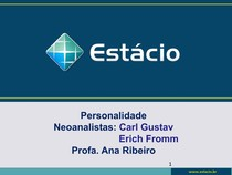 Aula Personalidade   Neoanalistas Jung Erich Fromm   Alunos