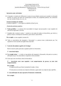 AULA 4 - MUDANÇA DE ATITUDE