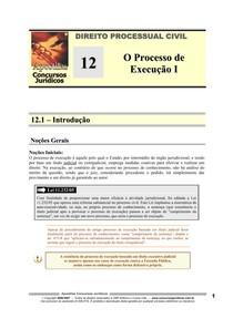 DPC 12 - O Processo de Execução I