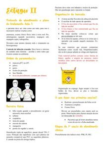 Clinica integrada II Resumo aula plano de tratamento