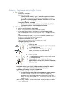 Fraturas - Classificação e implicações clínicas