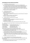Programação Dispositivos Móveis - Banco de Questões