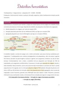 Distúrbios hemostáticos