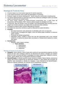 Histologia - Tecido Ósseo