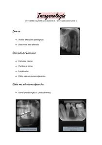 Imagenologia - Interpretação radiográfica - Patologias parte 5