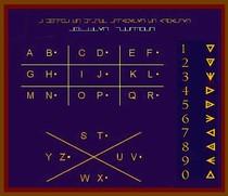 alfabeto maconico