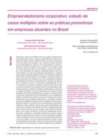 PRÁTICAS DE PROMOÇÃO DO EMPREENDEORISMO CORPORATIVO RAUSP v49n2 399 414