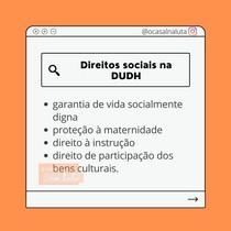 Direitos Sociais na DUDH