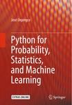 python probability statistics and machine learning