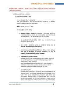 INFANTICÍDIO PDF